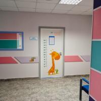 Детское отделение КВД 1 Забор материала