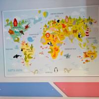Детское отделение КВД 1 детский уголок, карта.